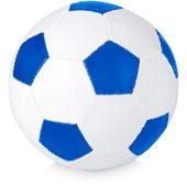 Мяч футбольный, размер 5, ярко-синий/белый, арт. 000805503