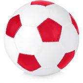 Мяч футбольный, размер 5, красный/белый, арт. 000805403