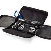Набор инструментов из 19 предметов в чехле с карабином, арт. 000897403
