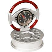 Часы в виде руля на автомобильном диске, арт. 000145203