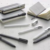 Классическая Авт. шариковая ручка Moleskine Click, 0,5 мм, белый, арт. 001576803