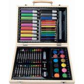 Набор для рисования из 67 предметов: краски, каранда