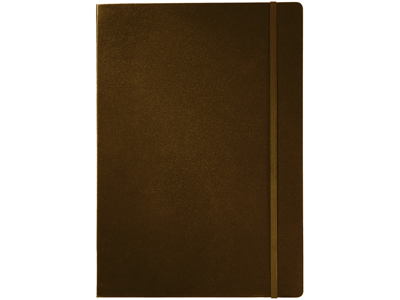 Блокнот А4 классический, коричневый, арт. 000773703