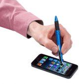 """Ручка-стилус шариковая """"Burnie"""" 3-в-1, синий, арт. 001170903"""