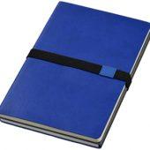 Блокнот А5 «Doppio», темно-синий/серый