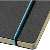"""Блокнот А5 """"Cuppia"""", черный/светло-синий, арт. 001412603"""