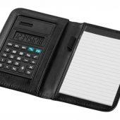 """Блокнот А6 """"Smarti"""" с калькулятором, черный, арт. 001380903"""