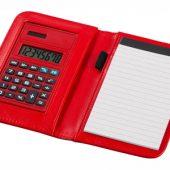 """Блокнот А6 """"Smarti"""" с калькулятором, красный, арт. 001380403"""