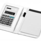 """Блокнот А6 """"Smarti"""" с калькулятором, белый, арт. 001380803"""