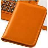 "Блокнот А6 ""Smarti"" с калькулятором, оранжевый, арт. 001380303"