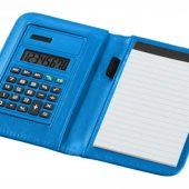 "Блокнот А6 ""Smarti"" с калькулятором, светло-синий, арт. 001380503"