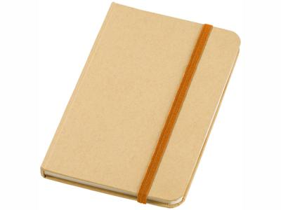 """Блокнот А6 """"Dictum"""", бежевый/оранжевый, арт. 001375503"""