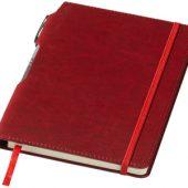 Блокнот А5 «Panama» с ручкой, красный