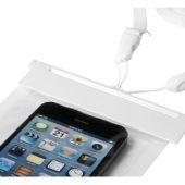 """Чехол водонепроницаемый """"Splash"""" для мобильного телефона, прозрачный/белый, арт. 001192903"""