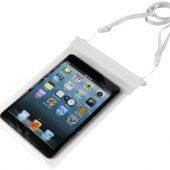 "Чехол водонепроницаемый ""Splash"" для Ipad mini, прозрачный/белый, арт. 001035403"