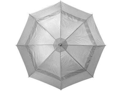 """Зонт трость """"Cardiff"""", механический 30″, серебристый, арт. 000362103"""