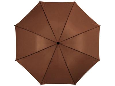 """Зонт трость """"Jacotte"""", механический 30″, коричневый, арт. 000334003"""