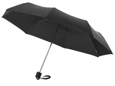 """Зонт складной """"Bernard"""", механический 21,5″, черный, арт. 000791203"""