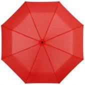 """Зонт складной """"Bernard"""", механический 21,5″, красный"""