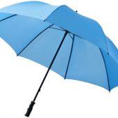 Зонт трость для гольфа, механический 30″, голубой