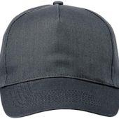 "Бейсболка ""Memphis"" 5-ти панельная, серый, арт. 000050903"