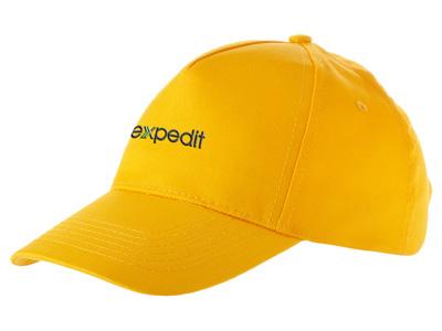 Бейсболка «Memphis» 5-ти панельная, золотисто-желтый