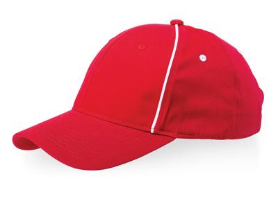 """Бейсболка """"Break"""" 6-ти панельная, красный, арт. 000474303"""