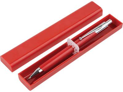 Ручка шариковая «Родос» в футляре красная, арт. 001023903