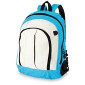 Рюкзак «Arizona» c ручкой и выходом для наушников, аква/белый