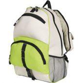 """Рюкзак""""Utah"""", зеленое яблоко/белый, арт. 000842603"""