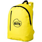 """Рюкзак """"Boulder"""" с 1 отделением и передним карманом, неоновый желтый"""