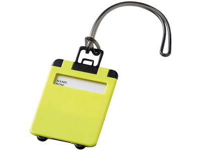 "Бирка для багажа ""Taggy"", лайм, арт. 001213003"