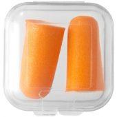 """Беруши """"Serenity"""" в футляре, оранжевый, арт. 001213103"""