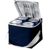 """Сумка-холодильник """"Tromso"""" на 4 банки, темно-синий, арт. 001214503"""