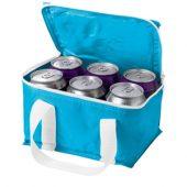 """Сумка-холодильник """"Malmo"""" на 6 банок, аква, арт. 000865903"""