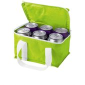 """Сумка-холодильник """"Malmo"""" на 6 банок, зеленое яблоко, арт. 000866003"""