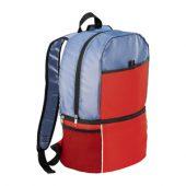 Рюкзак-холодильник «Sea Isle», красный/голубой