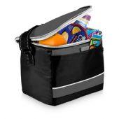 """Спортивная сумка-холодильник """"Levi"""", черный/серый"""