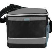 """Спортивная сумка-холодильник """"Levi"""", черный/серый, арт. 001676003"""