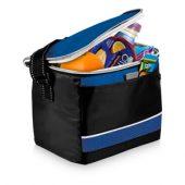 Спортивная сумка-холодильник «Levi», черный/ярко-синий