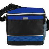 """Спортивная сумка-холодильник """"Levi"""", черный/ярко-синий, арт. 001676103"""