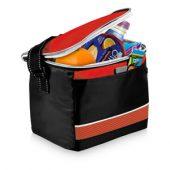 """Спортивная сумка-холодильник """"Levi"""", черный/красный, арт. 001676203"""