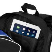 "Рюкзак для планшета ""Branson"", черный/ярко-синий, арт. 001673503"