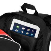 """Рюкзак для планшета """"Branson"""", черный/красный"""
