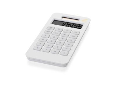 """Калькулятор на солнечной батарее """"Summa"""", белый, арт. 000795603"""