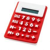 """Гибкий калькулятор """"Splitz"""", красный, арт. 000732103"""