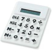 """Гибкий калькулятор """"Splitz"""", белый, арт. 000732203"""