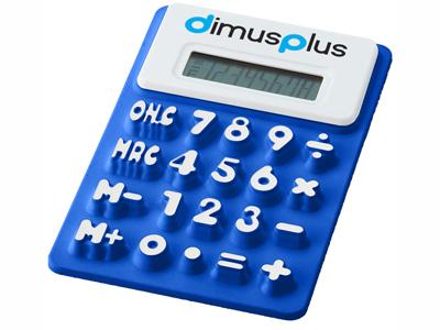 """Гибкий калькулятор """"Splitz"""", синий"""
