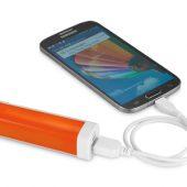 """Зарядное устройство """"Flash"""" 2200 мА/ч, оранжевый, арт. 001347903"""