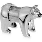 Часы-подставка под визитки «Медведь». Медведь может сидеть или стоять на четырех лапах, арт. 000145603
